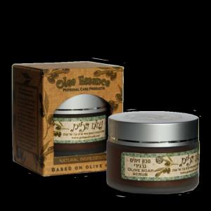 olive oil scrub jar
