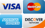 footer credit cards accepted logo