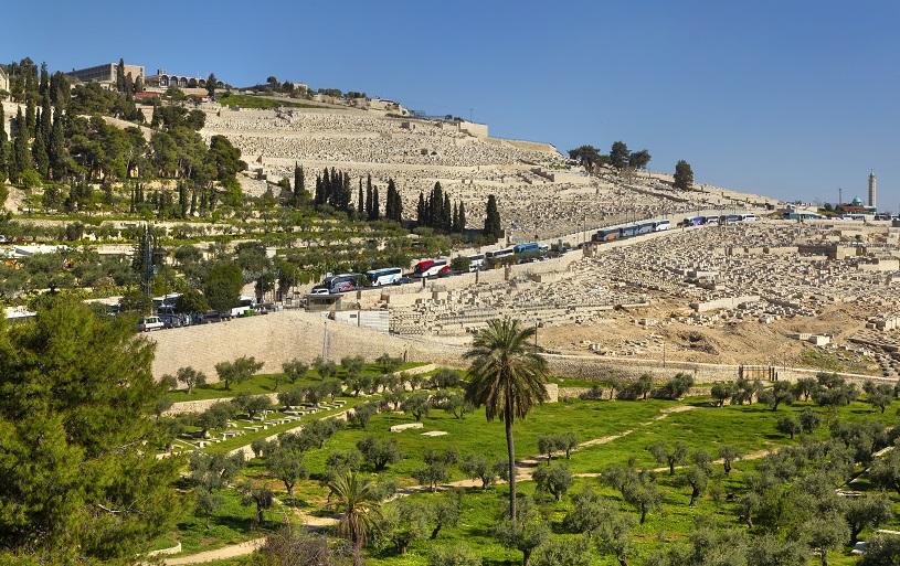 Jewish cemetery Jerusalem