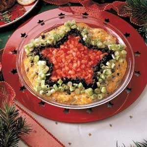 Southwestern Star Dip with Olives