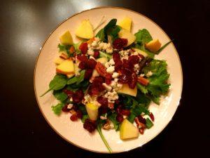 Red Leaf Lettuce Salad