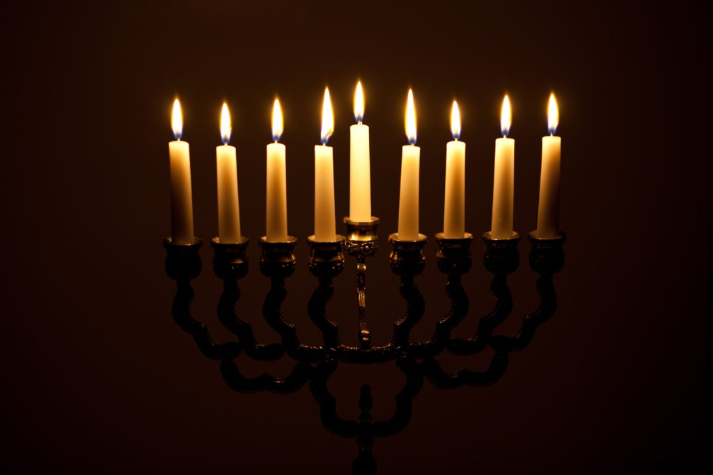 story of the Maccabees at Hanukkah