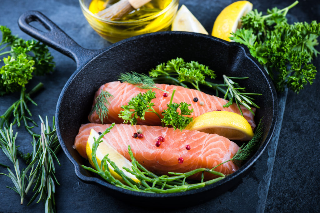 Pair Extra Virgin Olive Oil with Fish for Improved Health Benefits!