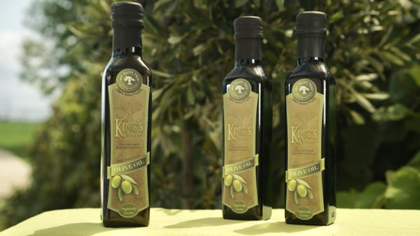 Olive Oil from the King's Valley in Israel