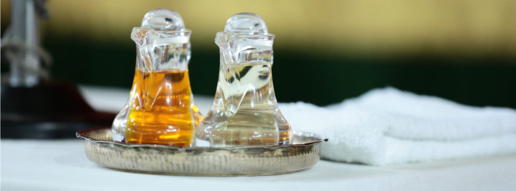 Olive Oil Used in Holy Anointing Oil