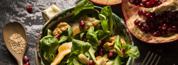 What the Marcellinos Really Like to Eat | Pomegranate, Chicken, and Couscous Salad