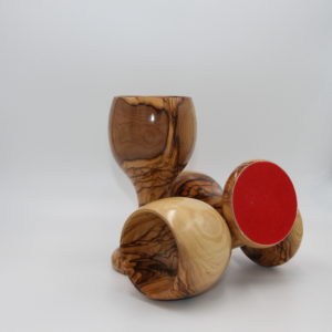 Kiddush Cup | Olive Wood