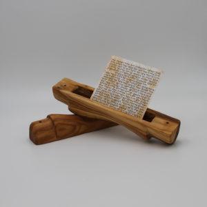 Olive Wood Mezuzah